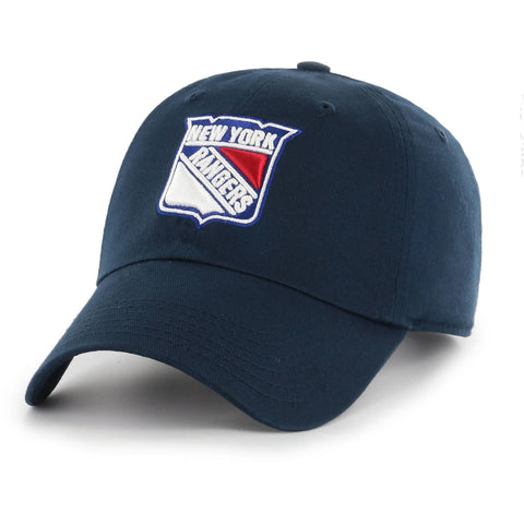 NHL New York Rangers Clean Up Adjustable Hat