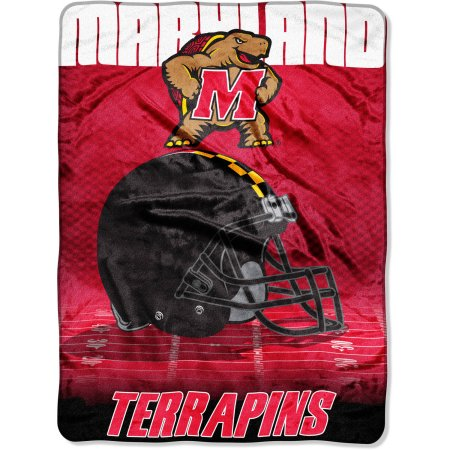 "Maryland Terrapins 60"" x 80"" Oversized Micro Raschel Throw Blanket"