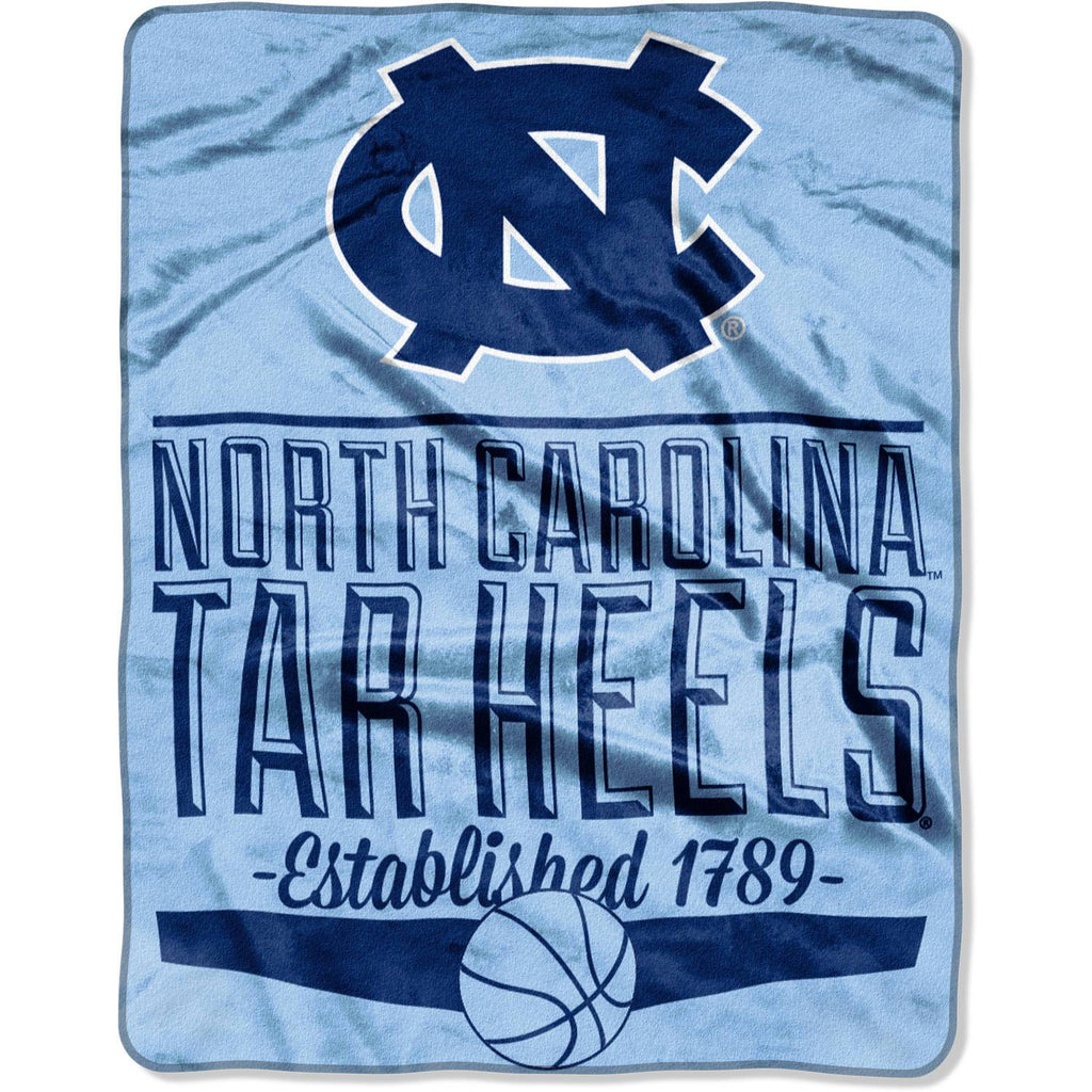 "NCAA North Carolina Tar Heels 55"" x 70"" Silk Touch Throw"