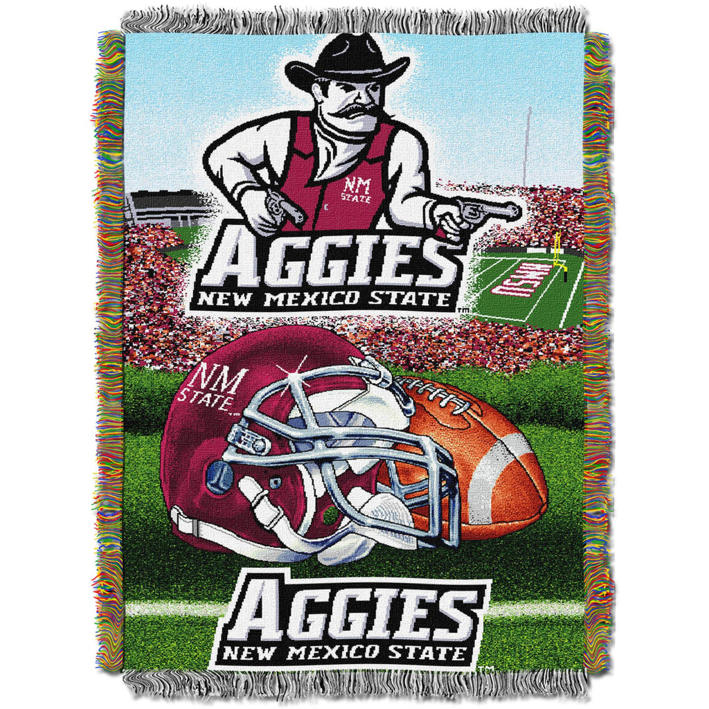"NCAA 48"" x 60"" Home Field Advantage Series Tapestry Throw, New Mexico State"
