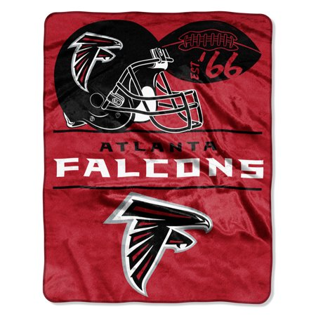 "NFL Atlanta Falcons ""Conference"" - Silk Touch Throw Blanket, 55"" x 70"""