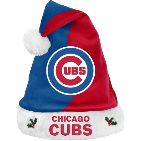 Forever Collectibles MLB Basic Santa Hat - Chicago Cubs