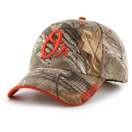 MLB Baltimore Orioles Mass Realtree Frost Hat / Cap - Fan Favorite