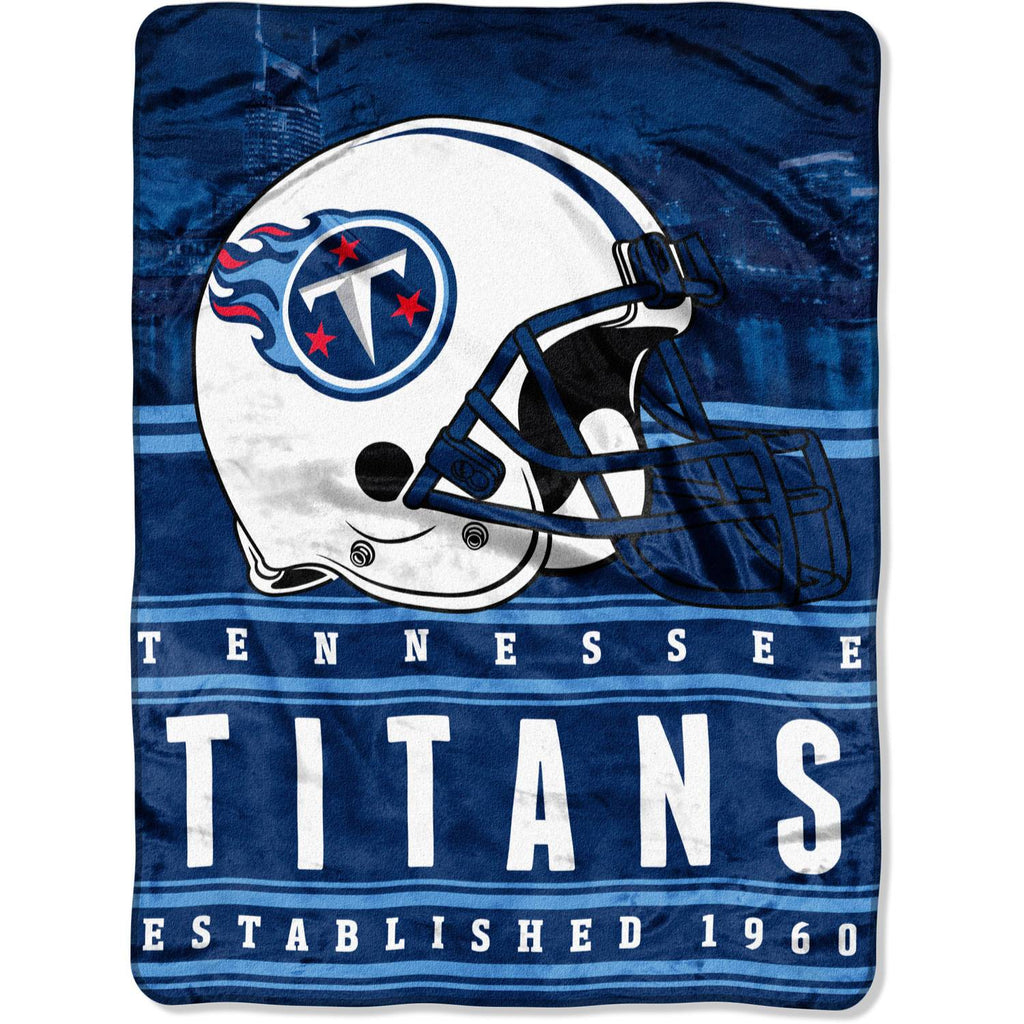 "NFL Tennessee Titans ""Stacked"" 60"" x 80"" Silk Touch Throw"