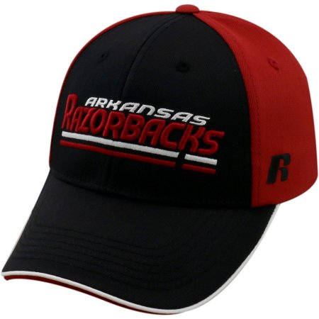 NCAA University of Arkansas Razorbacks Away Two Tone Baseball Hat \ Cap