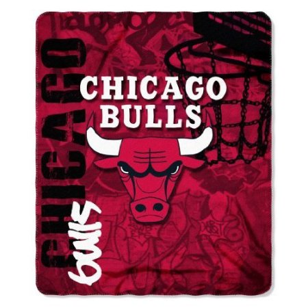 "NBA Chicago Bulls 50"" x 60"" Fleece Throw"