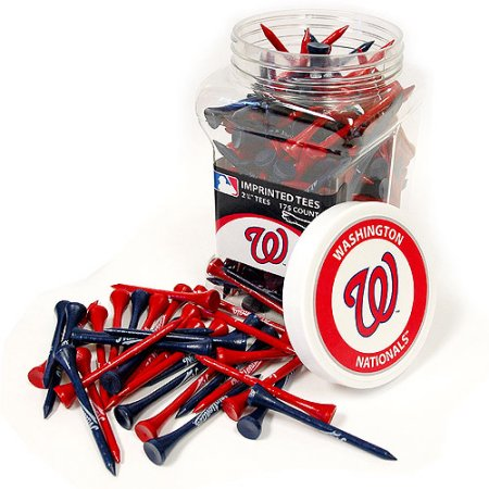 Team Golf MLB Washington Nationals Jar of 175 Golf Tees