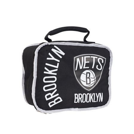 "NBA Brooklyn Nets ""Sacked"" 10.5""L x 8.5""H x 4""W Lunchbox Cooler"