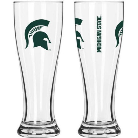 NCAA Michigan State Spartans 2-Pack Gameday Pilsner Set