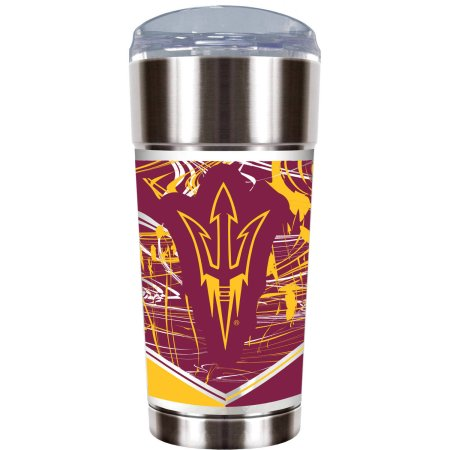 "NCAA Arizona State Sun Devils ""The EAGLE"" 24 oz Vacuum Insulated Stainless Steel Tumbler"