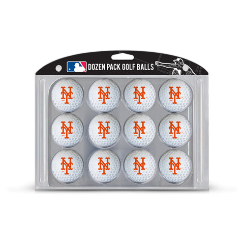 Team Golf MLB New York Mets Golf Balls, 12 Pack