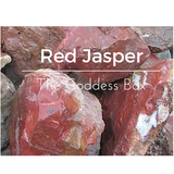 Red Jasper Yoni Egg - The Goddess Box  - 2