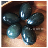 Nephrite Jade Yoni Egg - The Goddess Box  - 1
