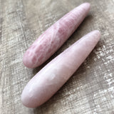 Rose Quartz Goddess Wand - The Goddess Box