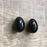 Obsidian Yoni Egg - The Goddess Box