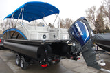 2017 Sylvan S3 Extreme lPR25 center tube 60 gallon fuel tank infloor storage RPT performance tubes. 250 hp Evinrude G2 power steering  extended rear deck rear facing seats
