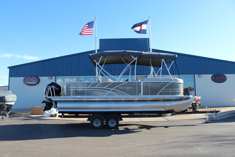 2021 8522 Party Fish with 115 hp Mercury UNDER CONTRACT