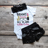 Brains + Beauty Onesie or T-Shirt
