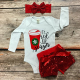 Red Cup Season Holiday Onesie or T-Shirt