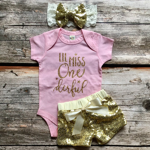Lil Miss Onederful Onesie or T-Shirt