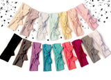 Pick 1 Solid Jersey Knot Headbands