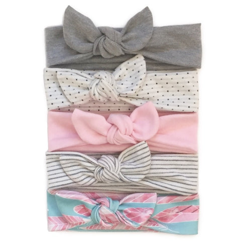 Pick 1 Sweet Summer Collection Knot Headband - Chamomile + Roses