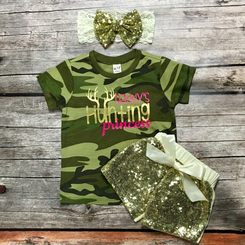 Daddy's Hunting Princess T-Shirt