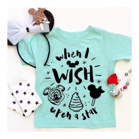When I Wish Upon a Star Infant/Toddler T-Shirt-PREORDER