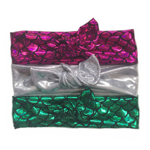 Pick 1 Mermazing Collection Knot Headband - Chamomile + Roses