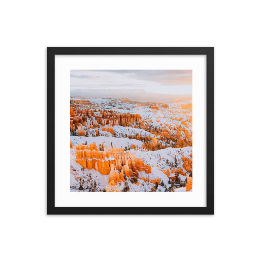 Early Morning Stroll At Bryce Canyon National Park in Utah.