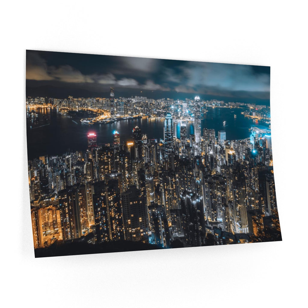 Aerial Landscape Of Hong Kong