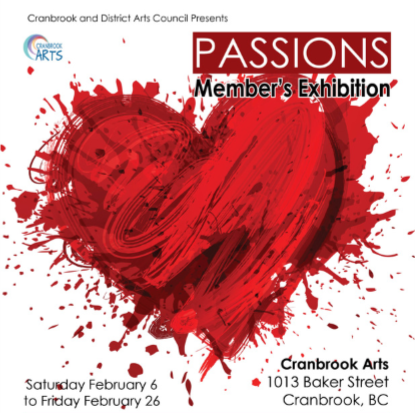 Passions ~ February 2016  Art Exhibit