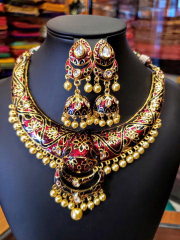 Jaipur Signature necklace set
