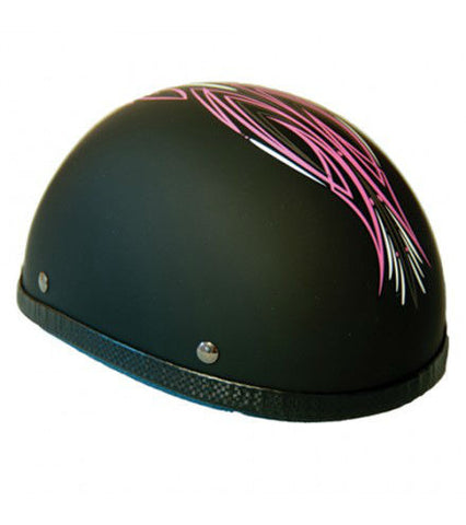 Novelty Eagle Pink Perewitz/Flat Black - Non- DOT
