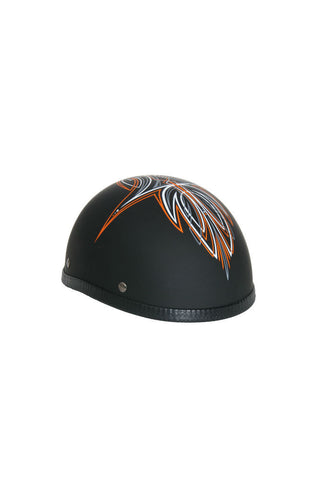 Novelty Eagle Orange Perewitz/Flat Black - Non- DOT