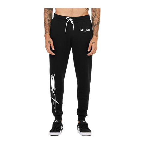 Switchblade Joggers in Black