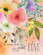 Do Small Things Art Print