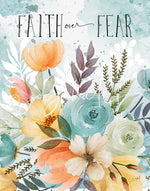Faith Over Fear Art Print