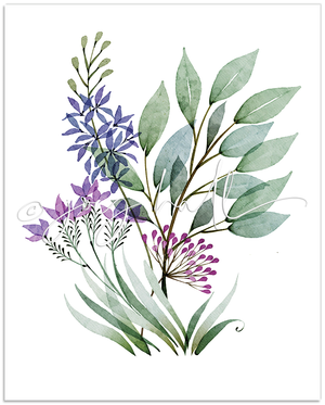 Load image into Gallery viewer, Serenity Botanical Print