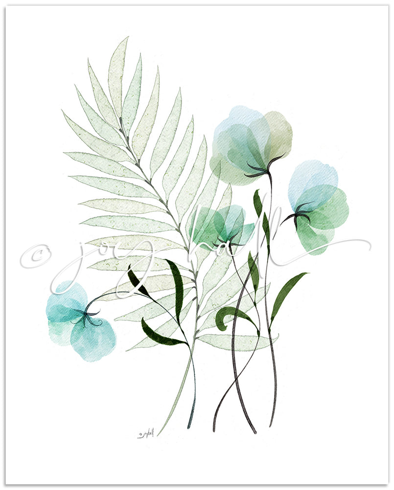 Load image into Gallery viewer, Tranquility Botanical Print