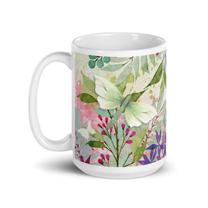 Load image into Gallery viewer, Hope Floral 15oz Mug