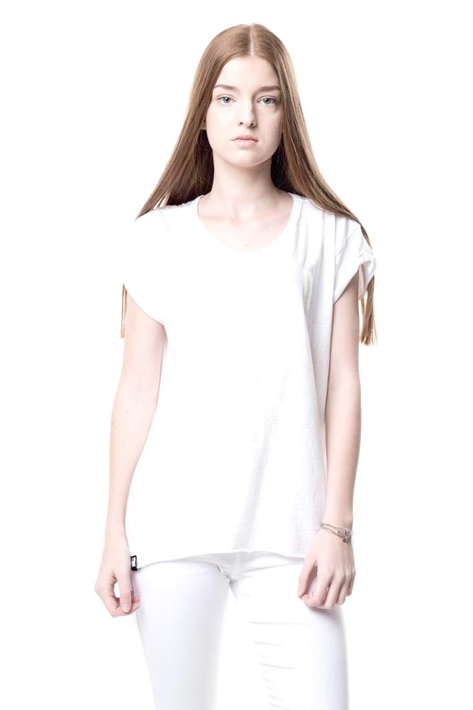 Womens Basic White