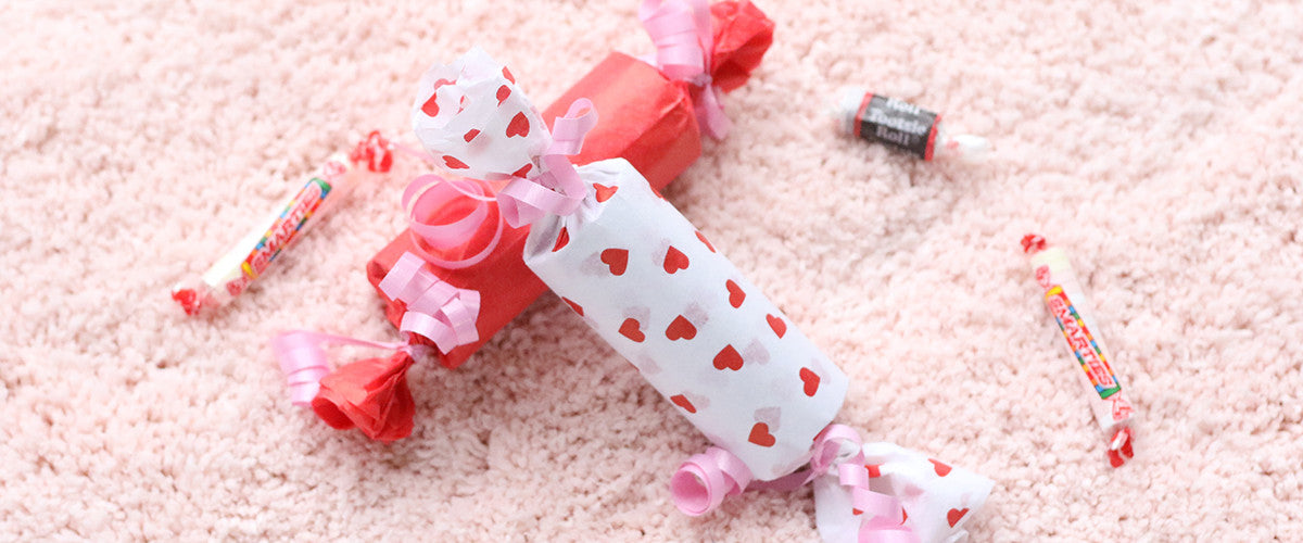 DIY Valentine's Day Toilet Paper Craft