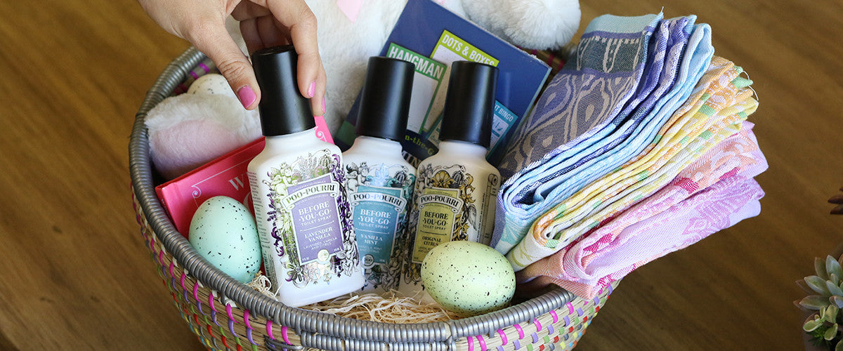 How to Create the Perfect Easter Basket for the Lover of the Bathroom