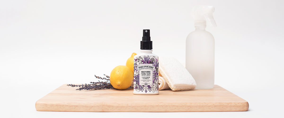 Using Poo~Pourri for Spring Cleaning
