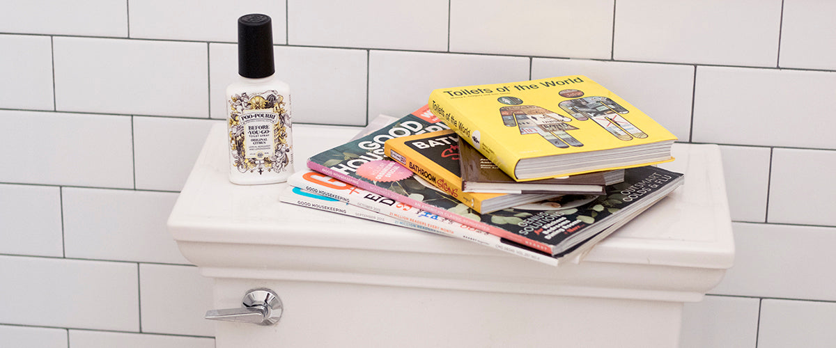 We Can Guess What You're Reading While You Poop