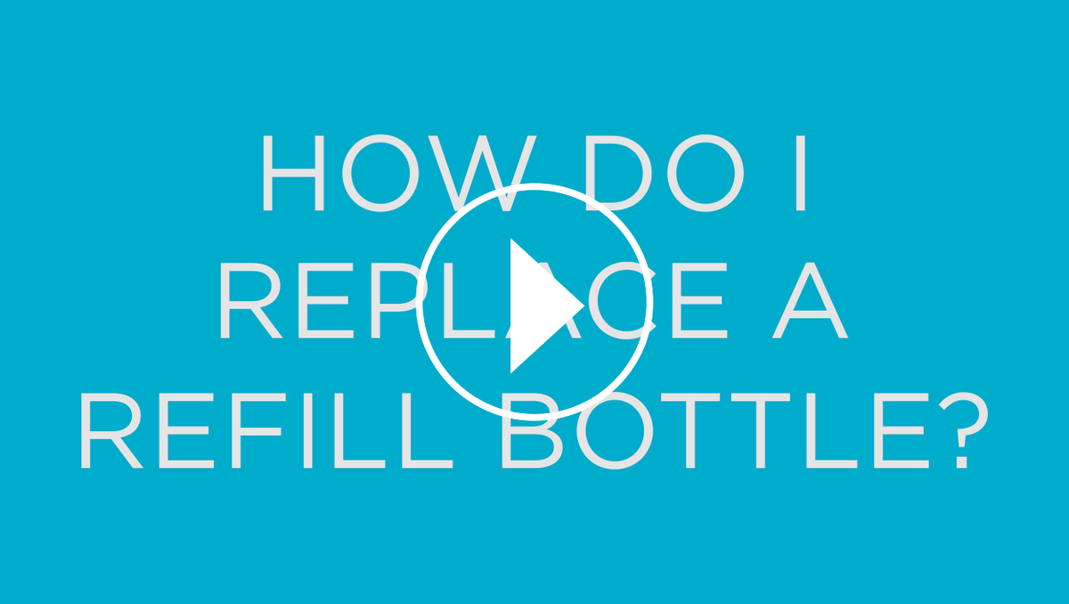 How Do I Replace A Refill Bottle?