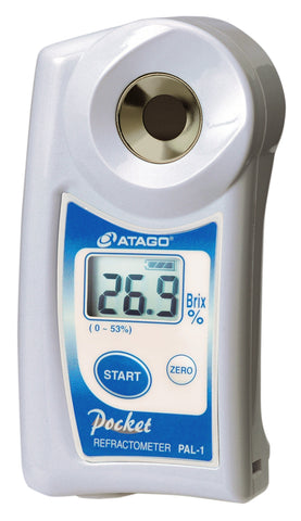 $199.99 Atago PAL-1 Digital 0-53% Brix Refractometer 32 Refurbished - FREE S&H!