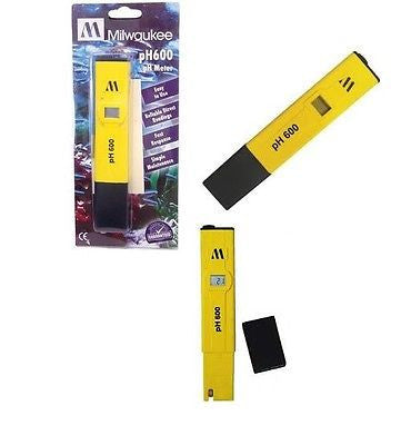 $17.95 MILWAUKEE INSTRUMENTS pH600-AQ pH Tester with 1 point manual calibration