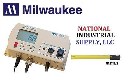 $119.95 MILWAUKEE INSTRUMENTS MC122pH Controller monitor  pH and/or ORP & MA911B/2 Probe